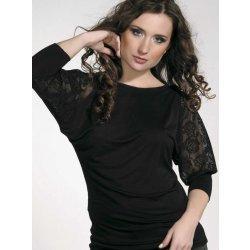 Violana halenka Dagny black 3/4 rukáv