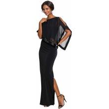 99f2c3ccec9 Večerní šaty dlouhé s flitry černá