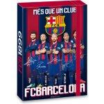 Ars Una box na sešity FC Barcelona A5 hráči