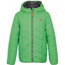 d146c73318aa Loap Ulrich zimní dětská bunda zelená