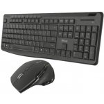 Trust Evo Silent Wireless Keyboard with mouse 22213