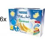 Nestlé mlíčko s kaší banánové 6x 2x200ml