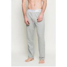 Calvin Klein Relaxační kalhoty šedý melír