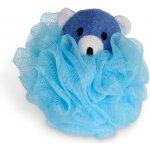 Calypso mycí květina se zvířátkem modrý medvídek