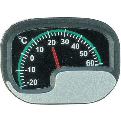 Carpoint Ručičkový teploměr do auta pro měření vnitřní teploty - stříbrný -