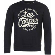 Lee Cooper Crew s logem Sweater pánské Navy