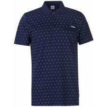 8999b20d20 Lee Cooper AOP Polo Shirt Mens Navy AOP