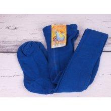 Dotex punčocháče Lachtan žebrované 100% bavlna 3874 modrá