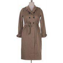 dámský kabát béžová