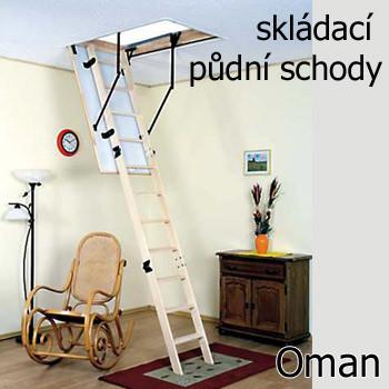 Půdní schůdky Oman Termo Skládací schody - Seznamzboží.cz