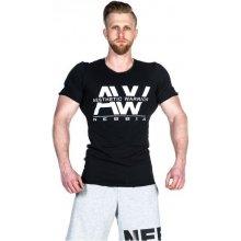 Nebbia Pánské tričko AW Top 127 černé