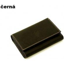 Harvey Miller 559195 kožená peněženka dámská Černá
