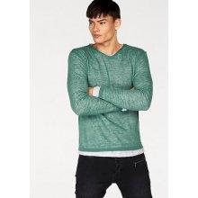Bruno Banani pulovr s kulatým výstřihem, smaragdová