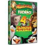 Kolekce: Madagaskar 1-3 + Tučňáci z Madagaskaru DVD