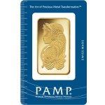 PAMP zlatý slitek 50 g