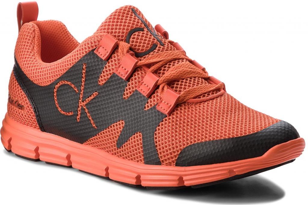 Sneakersy CALVIN KLEIN JEANS Murphy SE8525 Orange Black alternativy -  Heureka.cz 746ad4fb06