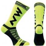 Northwave ponožky Extreme Pro nad kotník fluo žluto-černá 354a1a6280
