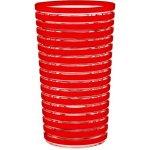 ZAK! desings Swirl sklenice 36 cl červená
