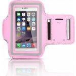 Pouzdro Sportiso Sportovní Armband iPhone 5/5S/SE Růžové