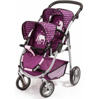 Bayer design Twin Jogger fialový