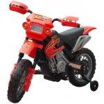 vidaXL 80054 Elektrická dětská motorka červená