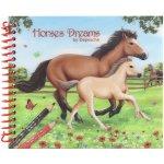 Omalovánky Horses Dreams