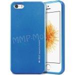 Pouzdro Goospery Mercury i-Jelly Apple iPhone 5 / 5S Modré
