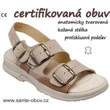 d8e6e5875c2 Sante N 517 43 28 47 SP dámský zdravotní sandál profi
