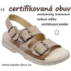 Sante N 517 43 28 47 SP dámský zdravotní sandál profi od 599 Kč ... 62cd54d07e