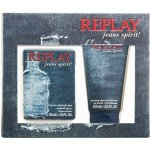 Replay Jeans Spirit Men EdT 30 ml + sprchový gel 50 ml dárková sada