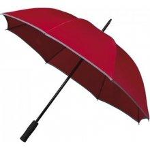 Dámský holový deštník SAFETY reflex červený