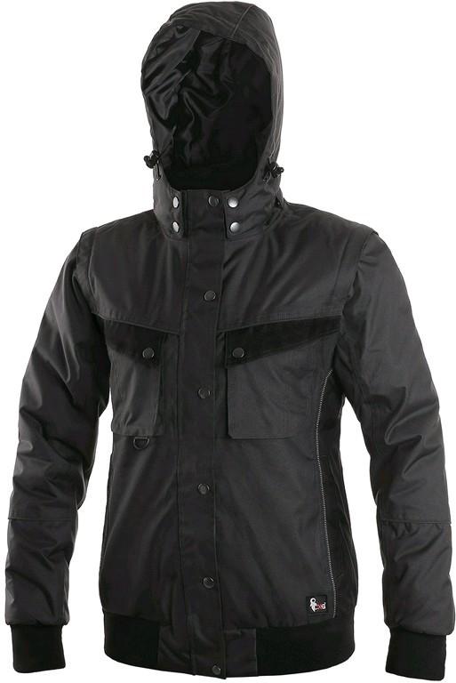 873f939eae8f Canis Cxs Irvine dámská zimní bunda šedo černá od 861 Kč - Heureka.cz