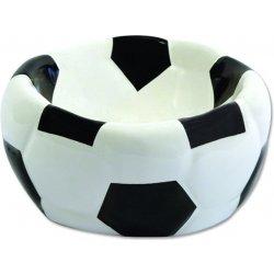 Dog Fantasy miska keramická fotbalový míč 15x8cm