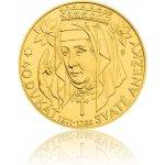 Česká mincovna Zlatá investiční mince 40dukát svaté Anežky stand 139,5 g