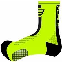 Force ponožky Long, fluo/černá