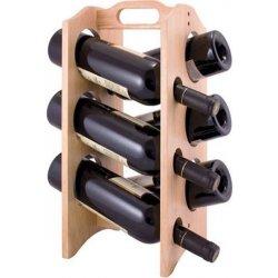 stojan dřevěný na víno Brillante 6 lahví