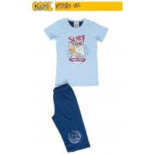 dětské pyžamo kapri Žralok modrá