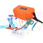 Mil-Tec Camping lékárnička v plastovém vodotěsném boxu oranžová