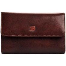 Genevian peněženka kožená dámská 03 2712 04 hnědá