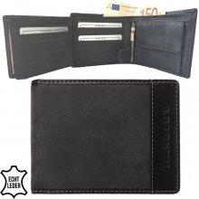 Harold's peněženka pánská kožená černá F11820 schwarz