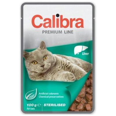 Calibra Cat Premium Sterilised Liver 100 g