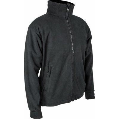 Pro force bunda THOR fleece vodě a větruodolná membrána Černá