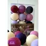 Ball-de-sign LAVENDER GARDEN cotton balls Počet ks v balení: 10 ks