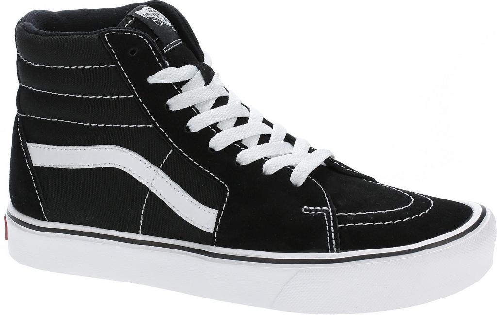Vans Sk8-Hi Lite Suede Canvas Black White od 1 720 Kč - Heureka.cz fb60e30b0c