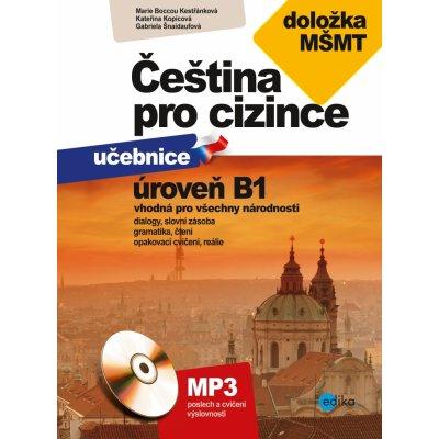 Čeština pro cizince B1 Marie Boccou Kestřánková