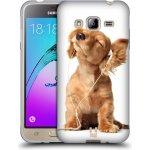 Pouzdro HEAD CASE Samsung Galaxy J3 (2016) ZAPOSLOUCHANÉ ŠTĚNĚ