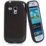 Pouzdro CELLY Gelskin Samsung Galaxy S3 Mini; černé
