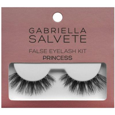 Gabriella Salvete False Eyelashes Princess dámské umělé řasy 1 pár + lepidlo na řasy 1 g