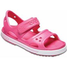 528f9ce34bc Crocs Dívčí sandály Crocband II - růžové