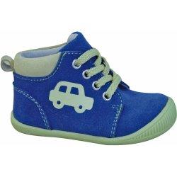 Kojenecké boty Protetika Chlapecké kotníkové boty Baby modrozelené d9a7679a80